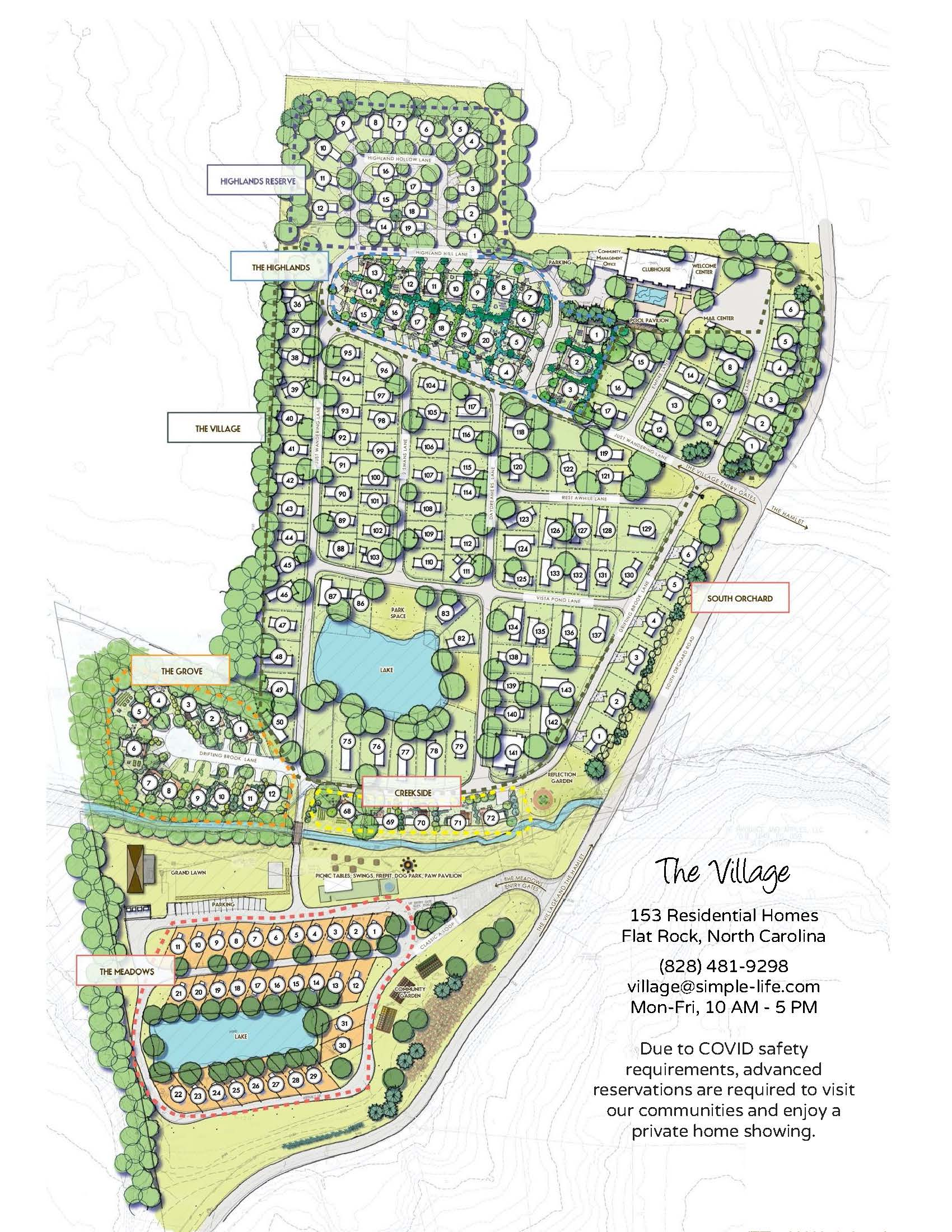 Village Map - Sold Out